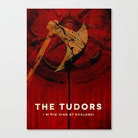 THE TUDORS Canvas Print