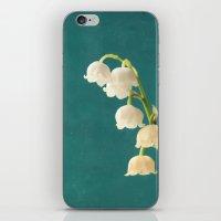 Botanical Flower Photogr… iPhone & iPod Skin