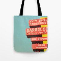 Sonny Bryan's Smokehouse Tote Bag
