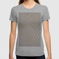 Boxes Womens Fitted Tee Athletic Grey SMALL