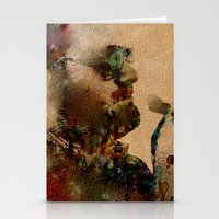 The Cigar Smoker Stationery Cards