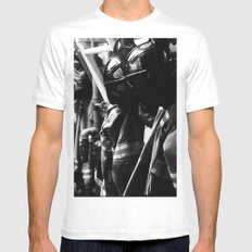 After a Long Day SMALL Mens Fitted Tee White