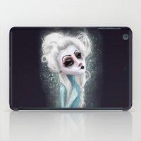 black cold surrounds me iPad Case