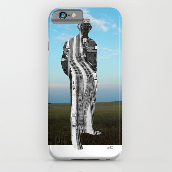 City Man´s Dream Collage iPhone & iPod Case