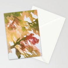 Morning Blossoms 2 - Olive Variation Stationery Cards