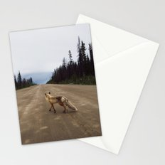 Road Fox Stationery Cards