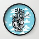 HIGH FIVE ALIVE Wall Clock