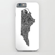 Typographic North Carolina Slim Case iPhone 6s