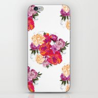 iPhone & iPod Skin featuring Flowers by Ale Ibanez