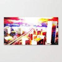 Kobecity Canvas Print