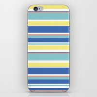 The Summer Stripes iPhone & iPod Skin