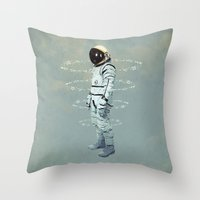 Crystallization Throw Pillow