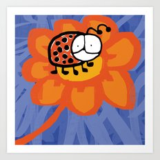 Ladybug 2 Art Print