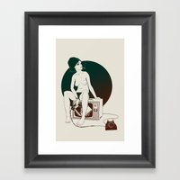4 AM Framed Art Print