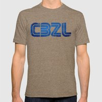 CBZL//Arcade Logo Mens Fitted Tee Tri-Coffee SMALL