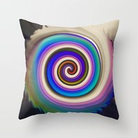 Throw Pillow featuring Imagination by Carol Sabbagh