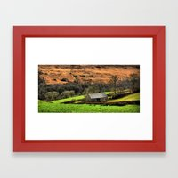 Little Barn Exmoor Framed Art Print