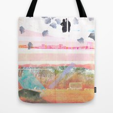 Only Foundations Remain Tote Bag