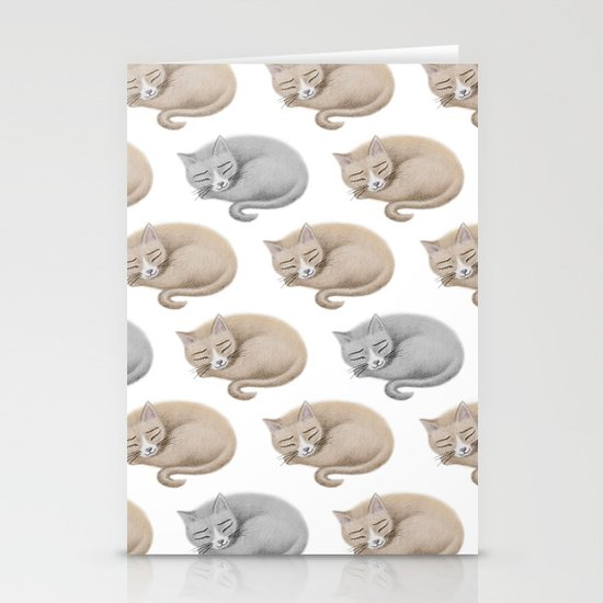 Cats Stationery Card