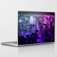 Laptop & iPad Skin featuring New York  by 2sweet4words Designs