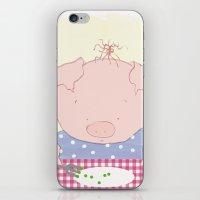 Not pea's again iPhone & iPod Skin
