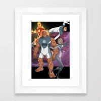 Fantastic Four: World's Greatest Heroes Framed Art Print