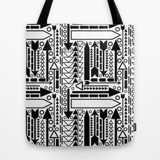 Arrows Pattern Tote Bag