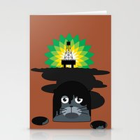 BP Oil Attack Stationery Cards