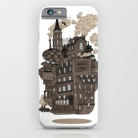 iPhone & iPod Case featuring Flying city. by andres lozano