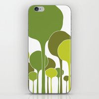 Green Palette iPhone & iPod Skin