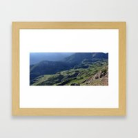 Green Haven Framed Art Print