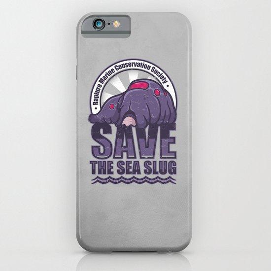Save The Sea Slug iPhone & iPod Case