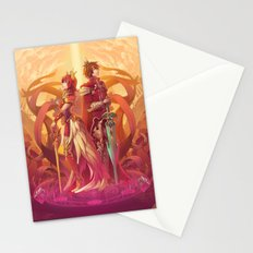 Medieval Sunset Stationery Cards