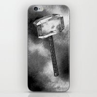 Mighty Hammer iPhone & iPod Skin