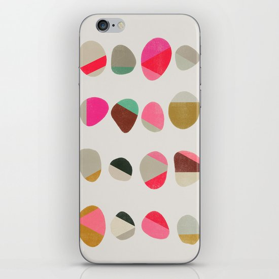 Painted Pebbles 1 iPhone & iPod Skin