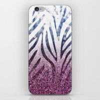 Zebra Case by Zabu Stewart iPhone & iPod Skin