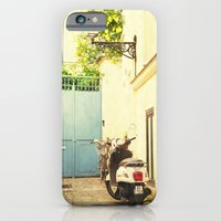iPhone & iPod Case featuring Montmartre Scooter by Anna Delores