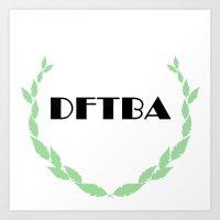 DFTBA Art Print