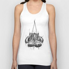 DARK GLOVES Unisex Tank Top