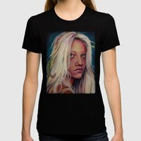 Madame M Womens Fitted Tee Black SMALL