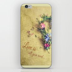 Love is all you need... iPhone & iPod Skin