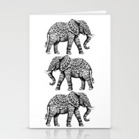 Ornate Elephant 3.0 Stationery Cards