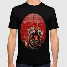 Intense Ferocity Black SMALL Mens Fitted Tee