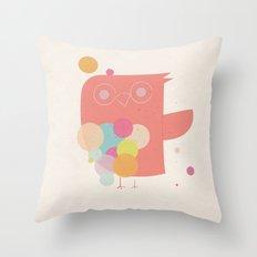 Owly Owl//One Throw Pillow