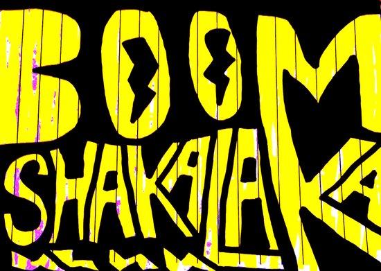 BOOM Shakalaka Art Print