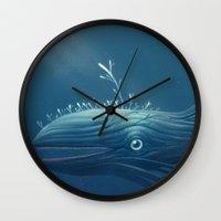 Sea Monster Wall Clock