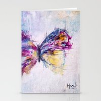 Flutterby Stationery Cards