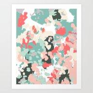 Nashe - Abstract Paintin… Art Print