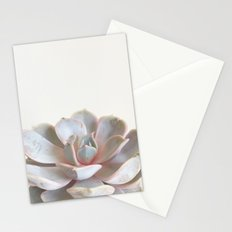Pink Succulent Stationery Cards