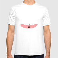 Mr.Sausage Mens Fitted Tee White SMALL